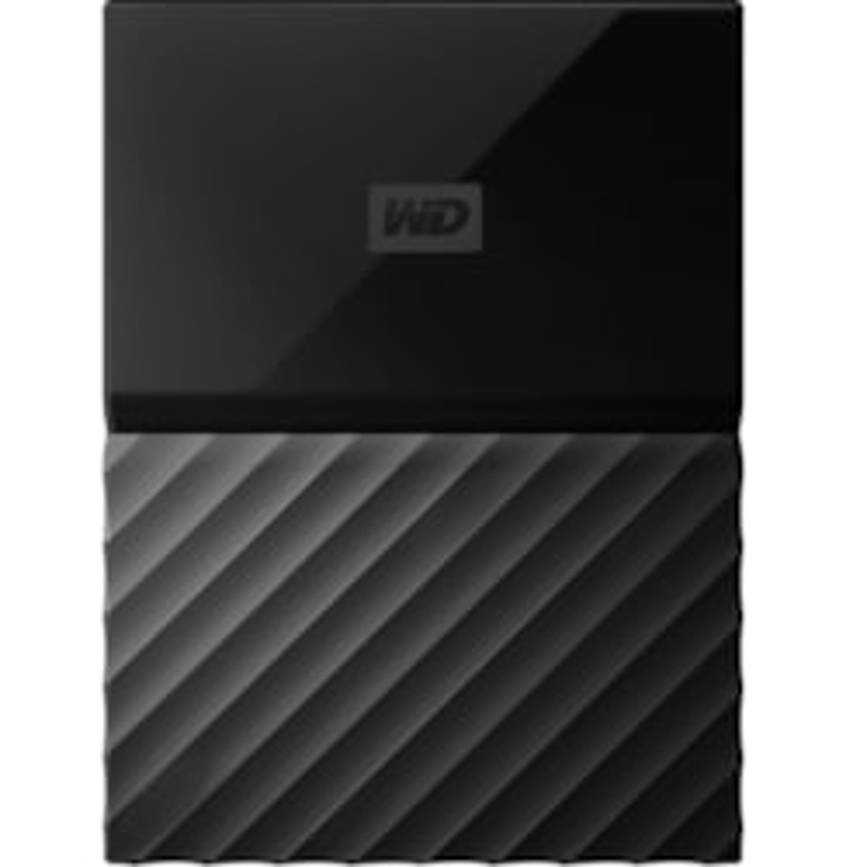 WD My Passport for Mac Portable WDBFKF0010BBK-WESE 1 TB External Hard Drive - Portable