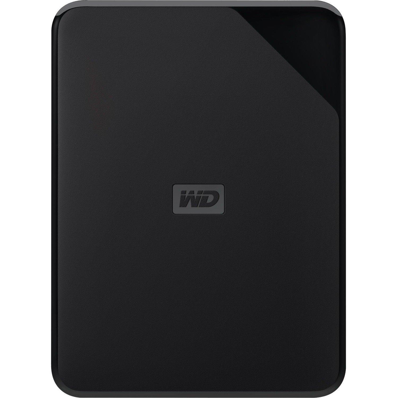 WD Elements SE WDBJRT0020BBK-WESN 2 TB External Hard Drive - Portable