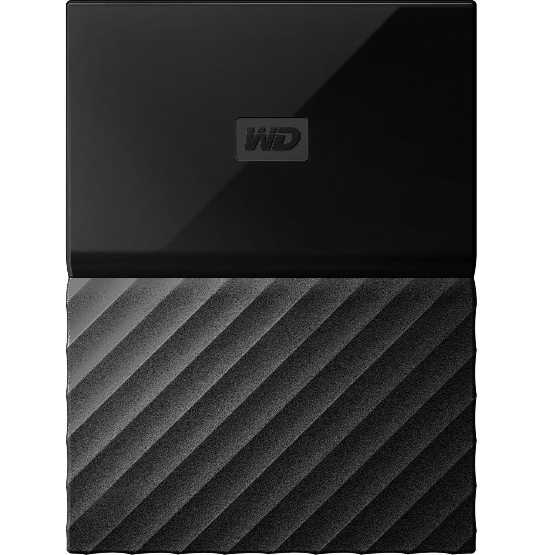 WD My Passport for Mac WDBLPG0020BBK-WESE 2 TB External Hard Drive - Portable