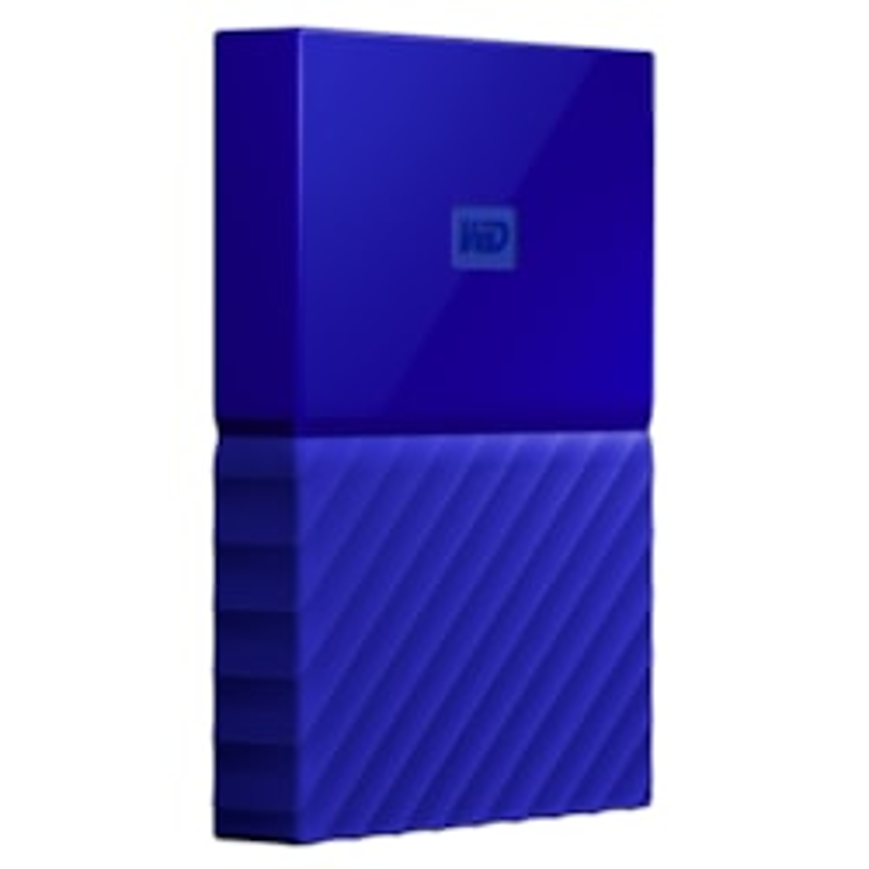 WD My Passport WDBS4B0020BBL-WESN 2 TB External Hard Drive - Portable