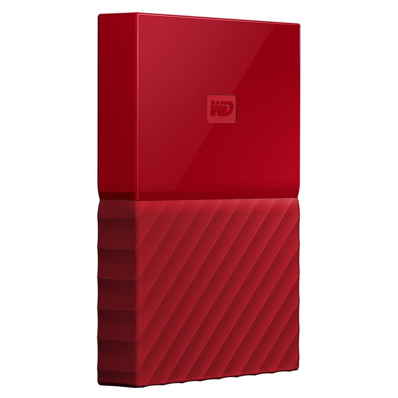WD My Passport WDBS4B0020BRD-WESN 2 TB External Hard Drive - Portable