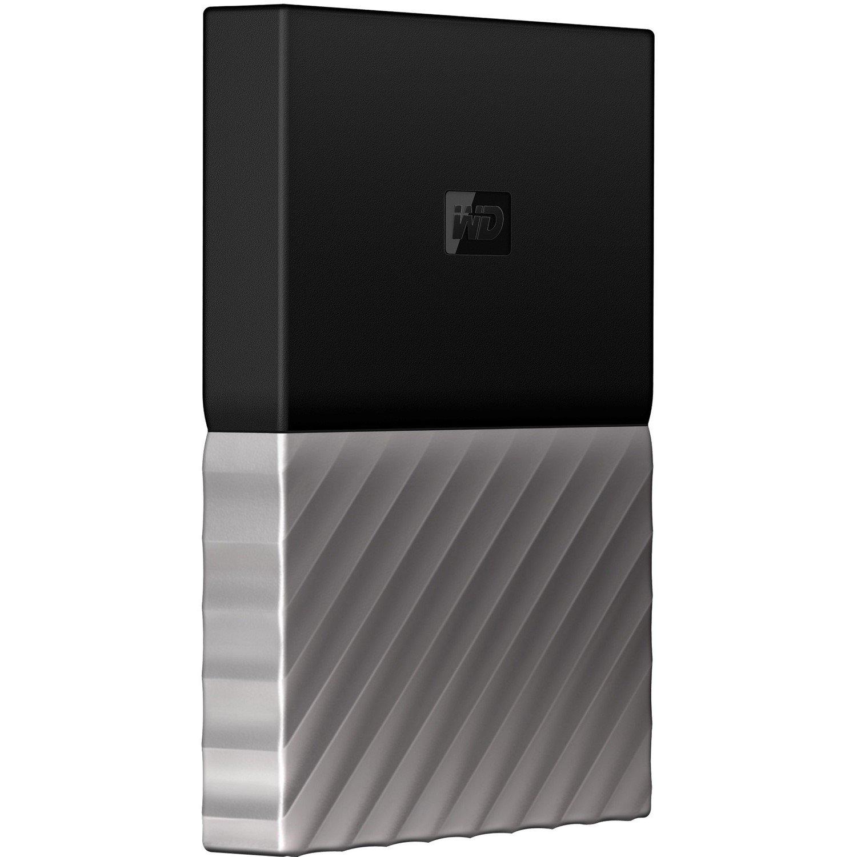 WD My Passport Ultra WDBTLG0020BGY-WESN 2 TB External Hard Drive - Portable