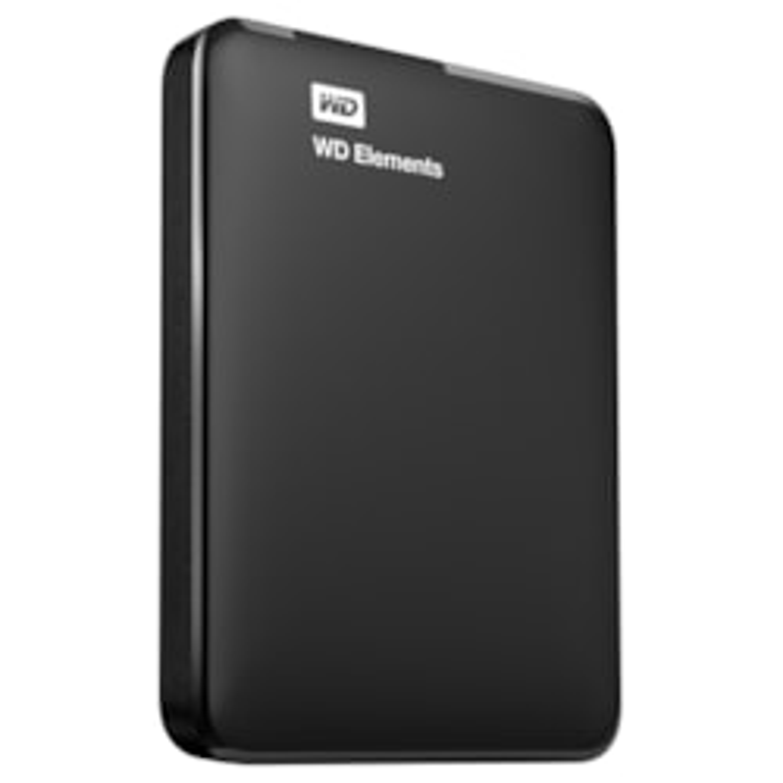 "WD Elements WDBUZG5000ABK 500 GB 2.5"" External Hard Drive - Portable"