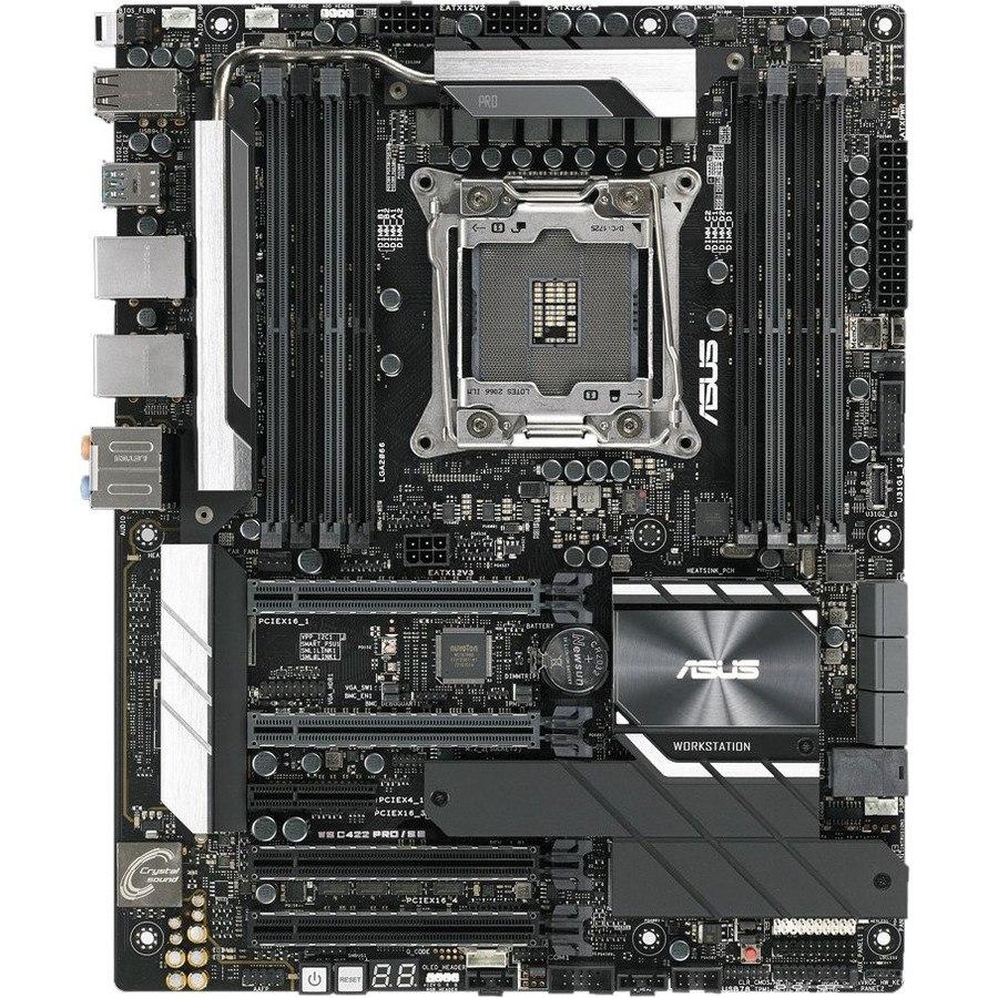 Asus WS C422 PRO/SE Workstation Motherboard - Intel Chipset - Socket R4 LGA-2066
