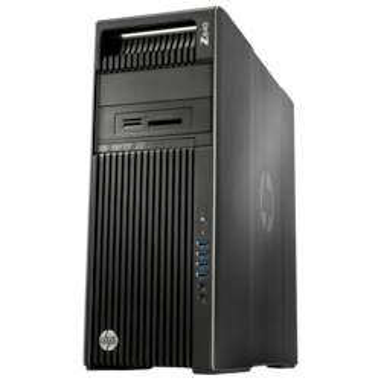HP Z640 Workstation - 1 x Intel Xeon E5-2650 v4 Dodeca-core (12 Core) 2.20 GHz - 32 GB DDR4 SDRAM - 512 GB SSD - NVIDIA Quadro M4000 8 GB Graphics - Windows 7 Professional 64-bit upgradable to Windows 10 Pro - Convertible Mini-tower - Brushed Aluminium