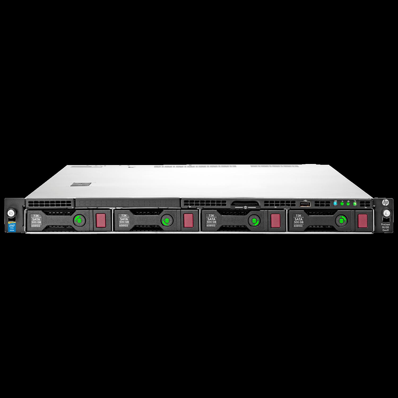 HP ProLiant DL120 G9 1U Rack Server - 1 x Intel Xeon E5-2623 v4 Quad-core (4 Core) 2.60 GHz - 8 GB Installed DDR4 SDRAM - Serial ATA/600 Controller - 0, 1, 5, 10 RAID Levels - 2 x 900 W