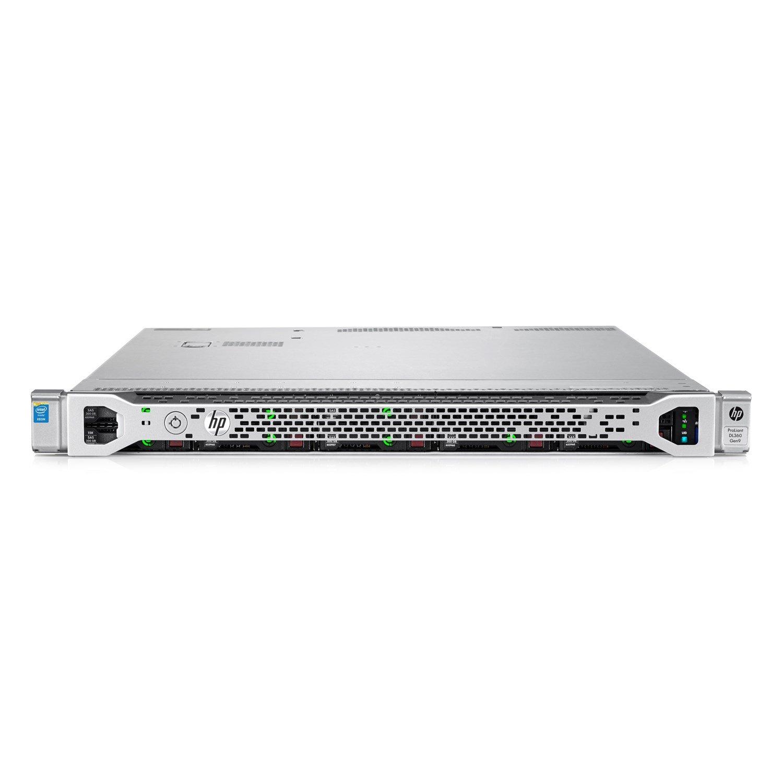 HP ProLiant DL360 G9 1U Rack Server - 1 x Intel Xeon E5-2620 v4 Octa-core (8 Core) 2.10 GHz - 8 GB Installed DDR4 SDRAM - 12Gb/s SAS Controller - 500 W