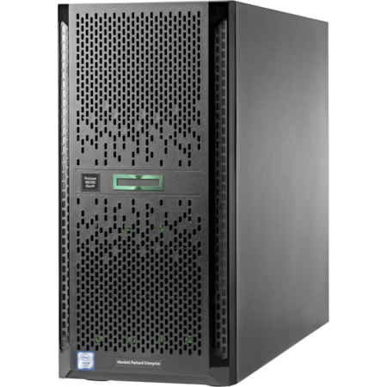 HP ProLiant ML150 G9 5U Tower Server - 1 x Intel Xeon E5-2620 v4 Octa-core (8 Core) 2.10 GHz - 16 GB Installed DDR4 SDRAM - 12Gb/s SAS Controller - 1 x 900 W