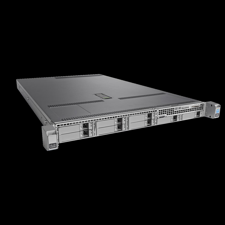 Cisco C220 M4 1U Rack Server - 1 x Intel Xeon E5-2609 v4 Octa-core (8 Core) 1.70 GHz - 16 GB Installed DDR4 SDRAM - 12Gb/s SAS Controller - 0, 1, 10 RAID Levels - 1 x 770 W