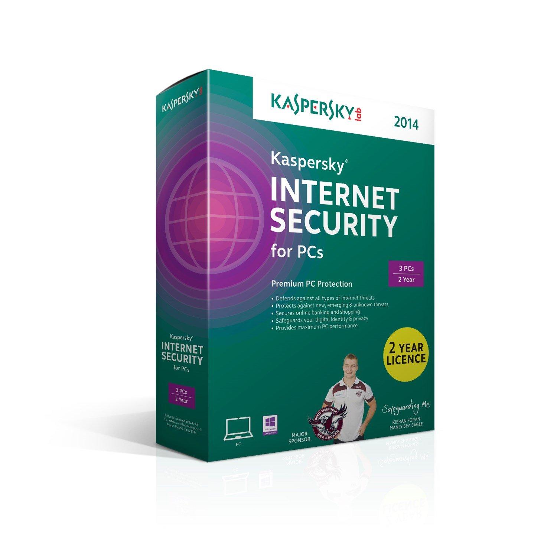 Kaspersky (LS) Kaspersky Int Security 3U 2014 3 User, 2 Year License, Retail