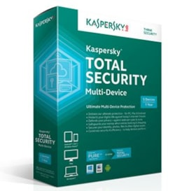 Kaspersky TotalSecurity 2YR 3U PC Mac Or Android Esd