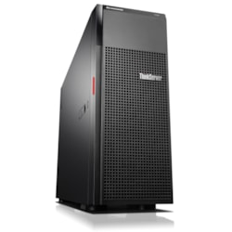 Lenovo ThinkServer TD350 70DJ00AEAZ 4U Tower Server - 1 x Intel Xeon E5-2640 v4 Deca-core (10 Core) 2.40 GHz - 16 GB Installed DDR4 SDRAM - 12Gb/s SAS Controller - 0, 1, 5, 6, 10, 50, 60 RAID Levels - 1 x 750 W