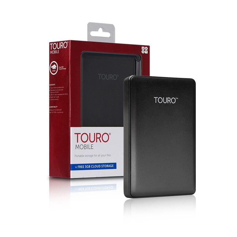 HGST Touro Mobile 2TB 2.5' Usb 3.0 External Portable Hard Drive - 3 Years Warranty