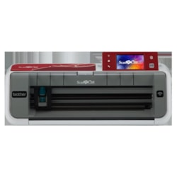 Brother CM700 ScanNCut, Stand-Alone Paper & Fabric Cutting Machine, Wireless Lan Ready, Built-In Scanner - Up To 300Dpi