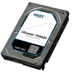 HGST 3.5' 4TB 128MB 7200RPM Sas 12GBs 512E Ise, 7K6000, 0F22795 - 5 Year Warranty - Hitachi