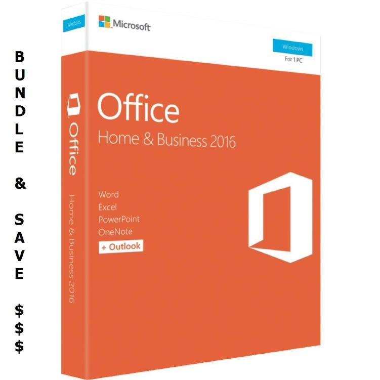 Microsoft Bundle 10 X Microsoft Office 2016 Home