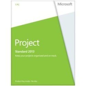 Microsoft Project 2013 Standard 32/64-bit - Licence - 1 PC