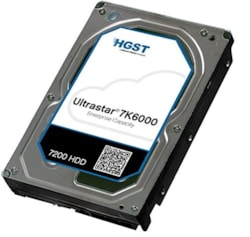 HGST 3.5' 4TB 128MB 7200RPM Sata 12GBs 512E Ise, 7K6000, 0F23005 - 5 Years Warranty - Hitachi