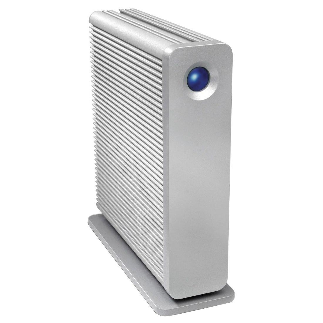 LaCie d2 Quadra STGJ6000400 6 TB External Hard Drive - SATA - Desktop