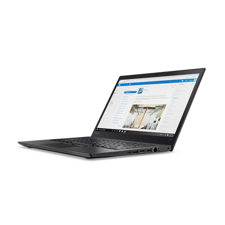 "Lenovo ThinkPad T470s 20JTA042AU 35.6 cm (14"") LCD Notebook - Intel Core i5 (6th Gen) i5-6300U Dual-core (2 Core) 2.40 GHz - 8 GB DDR4 SDRAM - 256 GB SSD - Windows 10 Pro 64-bit (English) - 1920 x 1080 - In-plane Switching (IPS) Technology - Black"