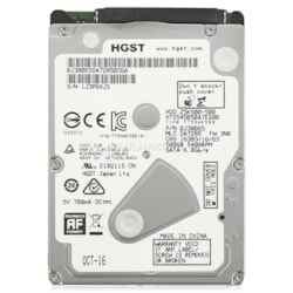 HGST 500GB, 2.5', 7MM, 0J38065, 5400RPM Sata HDD, 8MB Cache, Hts545050a7e680