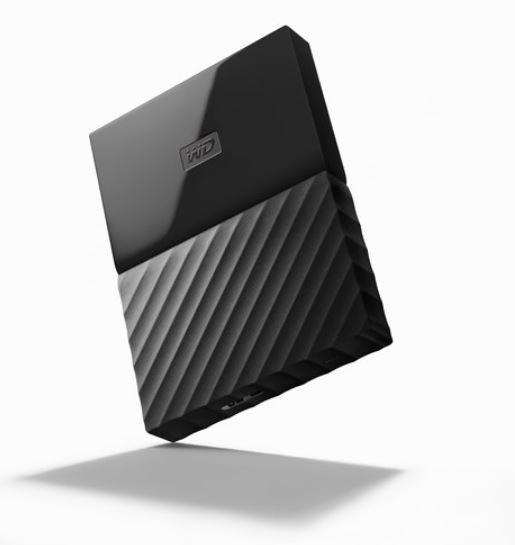 Western Digital WD MY Passport Portable 2TB Black 2.5' Portable Usb3.0. Built-In 256-Bit Aes Hardware Encryption