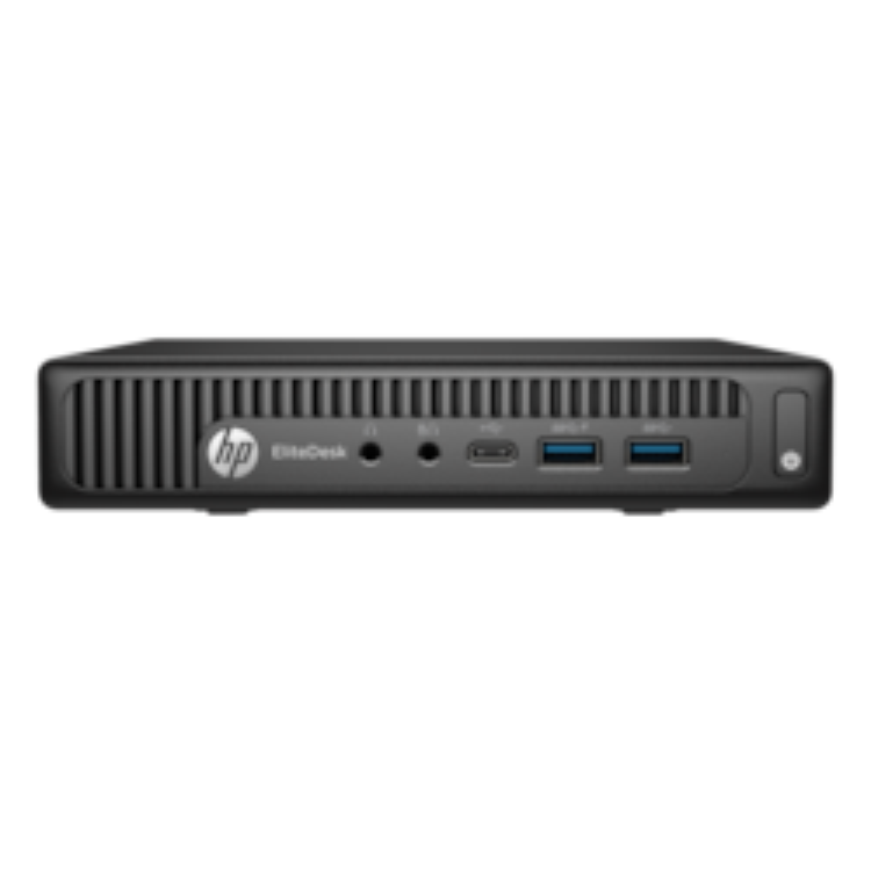 HP EliteDesk 800 G2 Desktop Computer - Intel Core i7 (6th Gen) i7-6700T 2.80 GHz - 8 GB DDR4 SDRAM - 256 GB SSD - Windows 7 Professional 64-bit upgradable to Windows 10 Pro - Mini PC