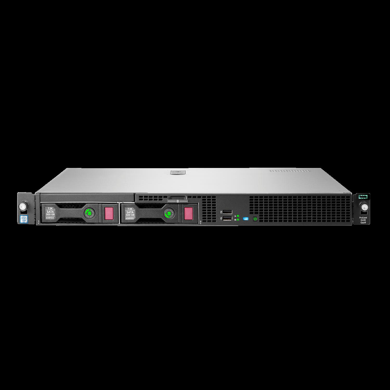HP ProLiant DL20 G9 1U Rack Server - 1 x Intel Xeon E3-1220 v5 Quad-core (4 Core) 3 GHz - 8 GB Installed DDR4 SDRAM - Serial ATA/600 Controller - 0, 1, 5, 10 RAID Levels - 1 x 290 W
