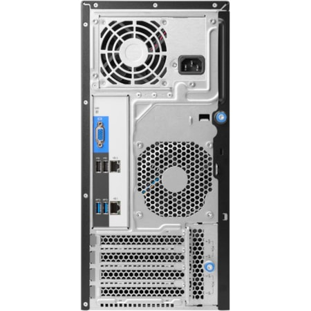 HP ProLiant ML30 G9 4U Micro Tower Server - 1 x Intel Xeon E3-1240 v5 Quad-core (4 Core) 3.50 GHz - 8 GB Installed DDR4 SDRAM - Serial ATA/600 Controller - 0, 1, 5, 10 RAID Levels - 1 x 460 W