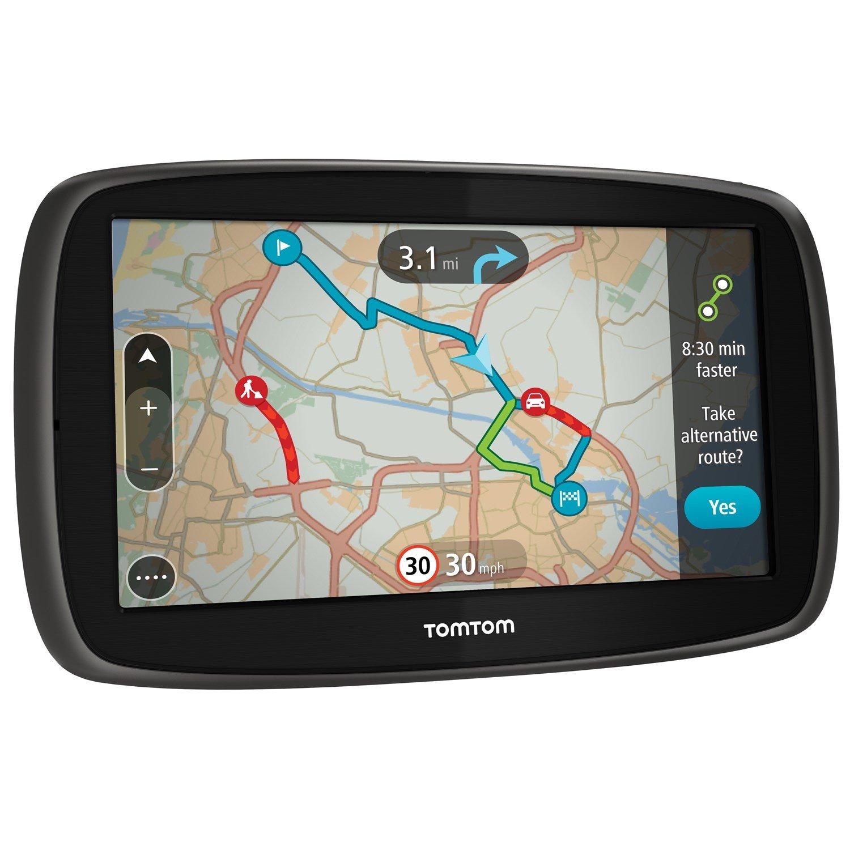 Tomtom GO 5100 Automobile Portable GPS Navigator - Portable, Mountable