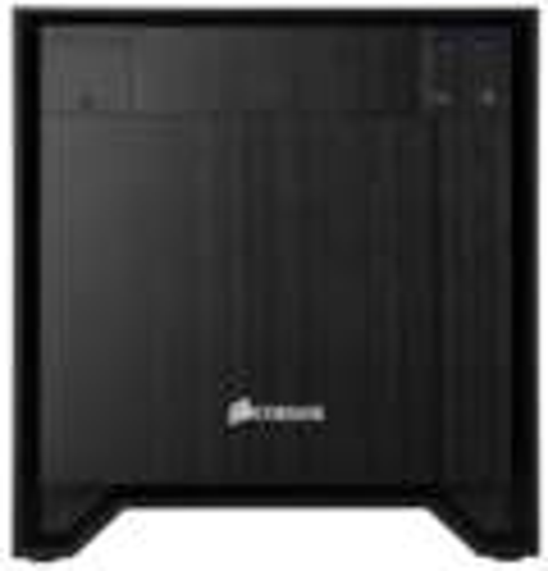 Corsair Obsidian 250D Computer Case - Mini ITX Motherboard Supported - Small - Aluminium - Black - 4.42 kg