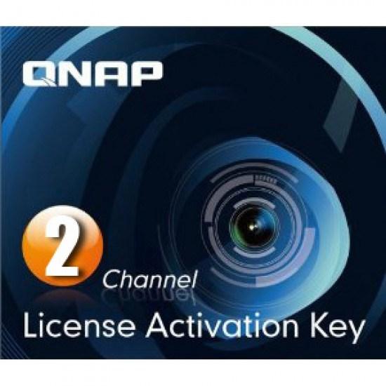 QNAP Hardware Licensing for QNAP NAS urveillance Station Pro - 2 Camera