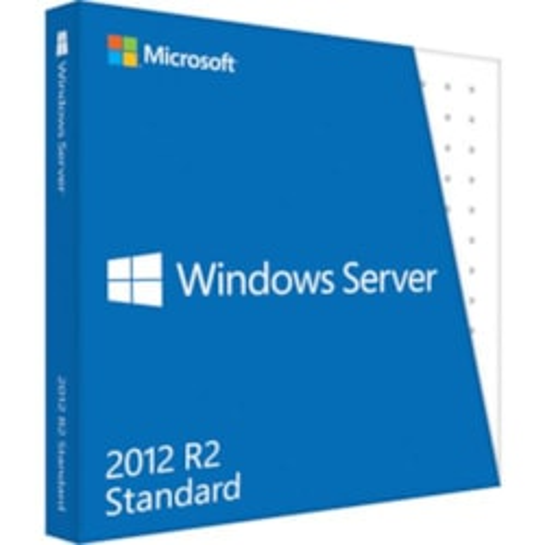 Microsoft Windows Server 2012 R.2 Standard 64-bit - License and Media - 2 Processor - OEM