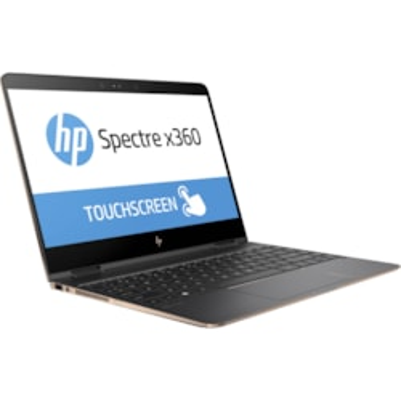 "HP Spectre x360 13-ac000 13-ac053tu 33.8 cm (13.3"") Touchscreen LCD 2 in 1 Notebook - Intel Core i7 (7th Gen) i7-7500U Dual-core (2 Core) 2.70 GHz - 8 GB LPDDR3 - 512 GB SSD - Windows 10 Home 64-bit - 3840 x 2160 - BrightView - Convertible"