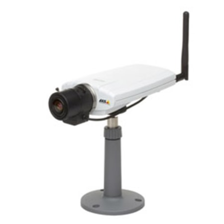 Axis 0270-006, 211W IP CAM, FIXED 640X480P, JPEG-MPEG, 30FPS 0.75 LUX, POE, AUDIO, W'LESS CAMERA